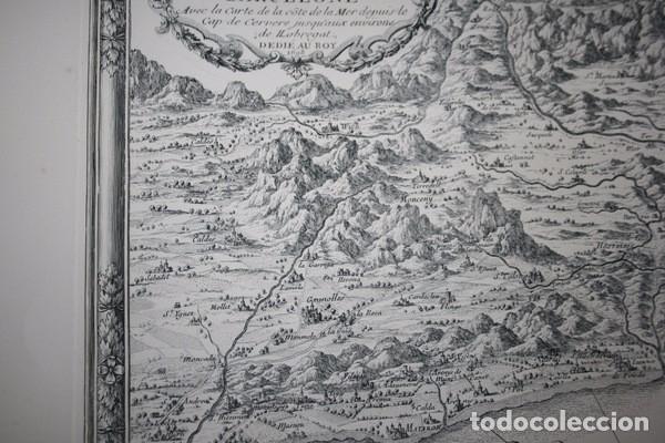 Arte: MAPA DE BARCELONA - SITIO - ASEDIO - 1698 - FRANCESES - Foto 9 - 73621455