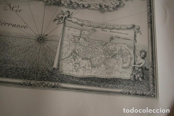Arte: MAPA DE BARCELONA - SITIO - ASEDIO - 1698 - FRANCESES - Foto 10 - 73621455