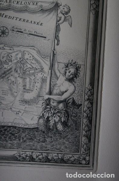 Arte: MAPA DE BARCELONA - SITIO - ASEDIO - 1698 - FRANCESES - Foto 14 - 73621455