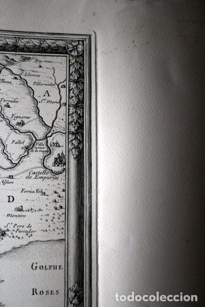 Arte: MAPA DE BARCELONA - SITIO - ASEDIO - 1698 - FRANCESES - Foto 17 - 73621455