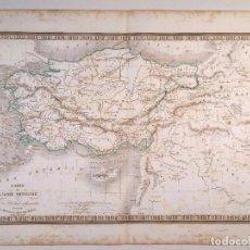 Arte: MAPA DE ASIA MENOR DEL ATLAS DE V. MONIN . 1837. Lote 73756871