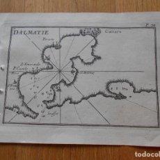 Arte: GRABADO CARTOGRAFIA MARITIMA DALMATIA , JOSEPH ROUX, 1764 ORIGINAL. Lote 74646487