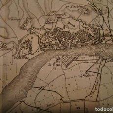 Arte: PLANO DEL SITIO DE TORTOSA. GRABADO EN 1820, BUEN PAPEL. 20X28 CM. GUERRA INDEPENDENCIA.. Lote 78152657