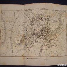 Arte: PLANO DEL SITIO DE CIUDAD RODRIGO. GRABADO EN 1820, BUEN PAPEL. 20X28 CM. GUERRA INDEPENDENCIA.. Lote 78152901