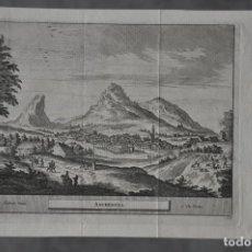 Arte: MAPA DE ARCHIDONA , MALAGA DE PIERRE VAN DER AA DE 1707 . Lote 81005776