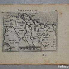 Arte: MAPA DE PORTUGAL, 1590. ORTELIUS. Lote 82983340