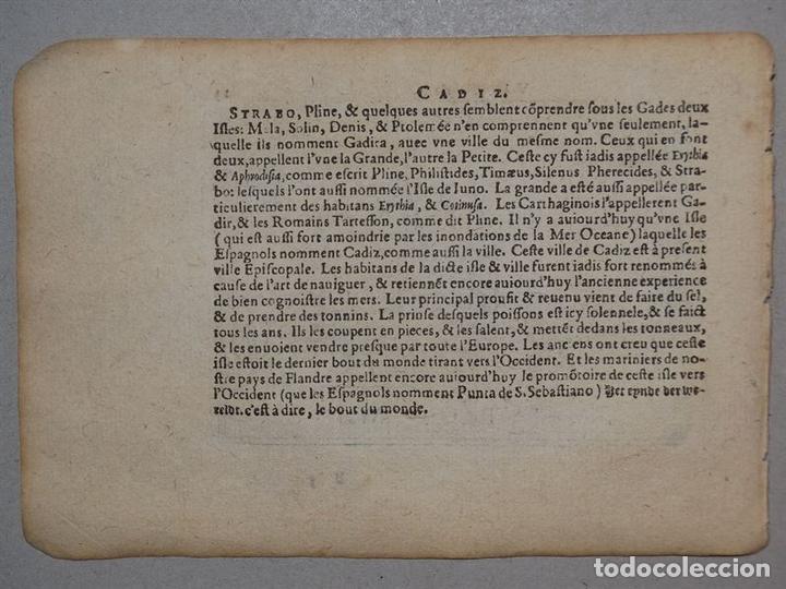 Arte: Mapa de Valencia (España), 1590. Ortelius - Foto 8 - 82983824