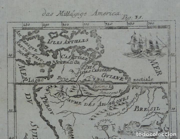 Arte: América del Sur, 1719. Mallet - Foto 2 - 83327056