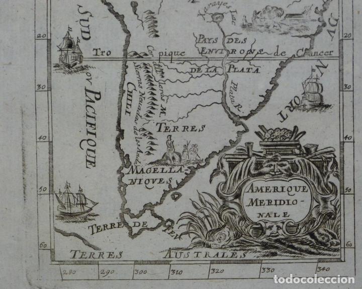Arte: América del Sur, 1719. Mallet - Foto 3 - 83327056