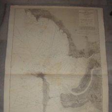 Arte: PLANO DE LA BAHÍA DE CÁDIZ. D. JOSE MONTOJO. 1874.. Lote 84313884