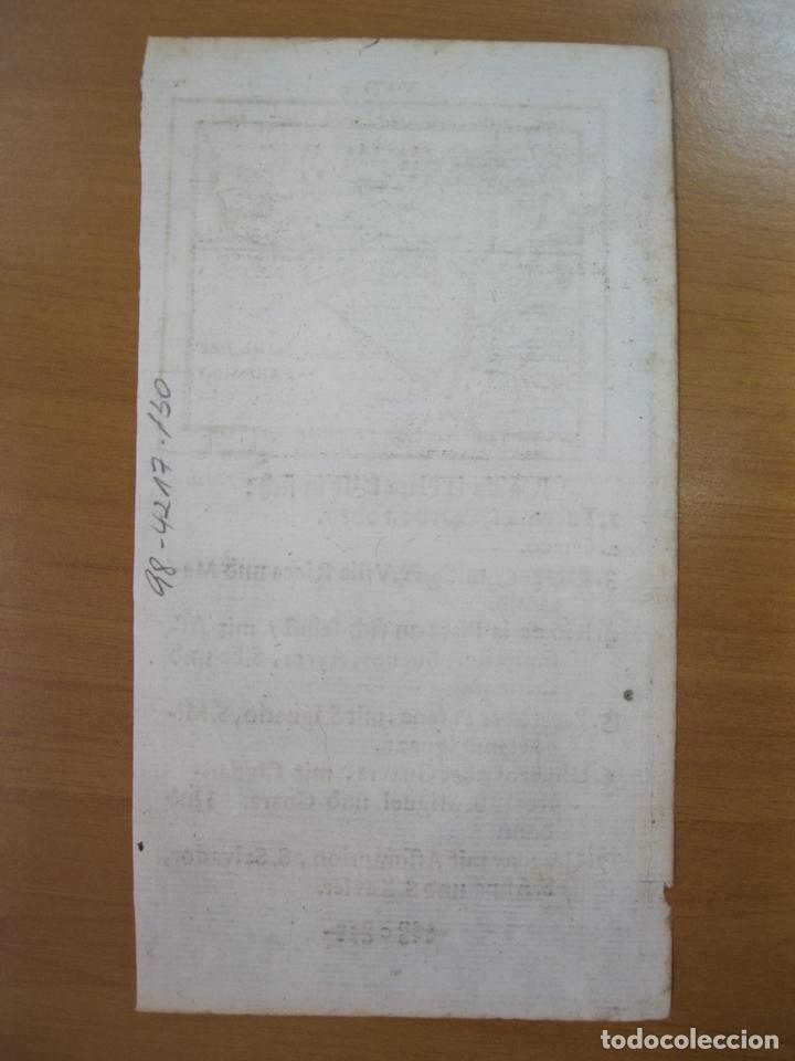 Arte: Mapa del Río de la Plata (América del sur), 1702. J. U. Müller - Foto 2 - 84326180