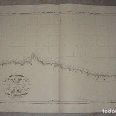 Arte - Carta Esférica de la Costa de Asturias. D. Francisco Armero. Año 1846 - 84358048