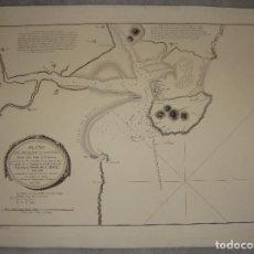 Arte: PLANO DEL PUERTO DE SANTOÑA. D. VICENTE TOFIÑO DE SAN MIGUEL 1789. D IGNACIO FERNANADEZ FLOREZ. 1834. Lote 84630864