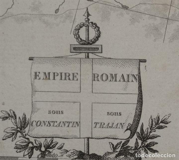 Arte: Mapa del Imperio Romano, 1845. Chamouin - Foto 4 - 84824384