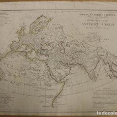 Arte: MAPA DEL MUNDO ANTIGUO, 1788. ANVILLE. Lote 85366540