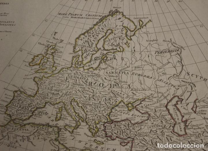 Arte: Mapa del mundo Antiguo, 1788. Anville - Foto 3 - 85366540