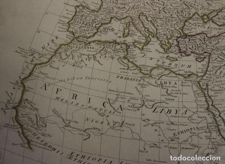 Arte: Mapa del mundo Antiguo, 1788. Anville - Foto 4 - 85366540