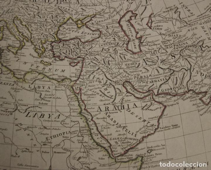 Arte: Mapa del mundo Antiguo, 1788. Anville - Foto 5 - 85366540