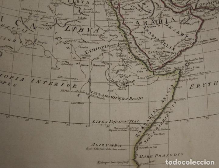 Arte: Mapa del mundo Antiguo, 1788. Anville - Foto 7 - 85366540