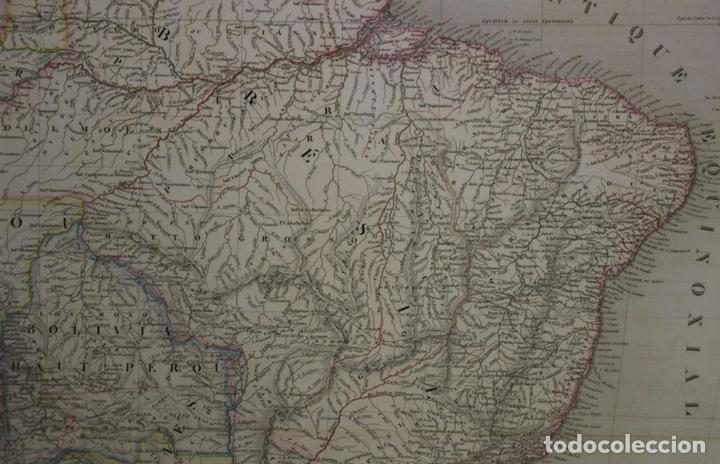 Arte: Gran mapa de América del Sur, 1840. Dufour/Andriveau-Goujon - Foto 7 - 85407772