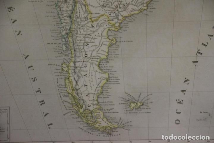 Arte: Gran mapa de América del Sur, 1840. Dufour/Andriveau-Goujon - Foto 10 - 85407772