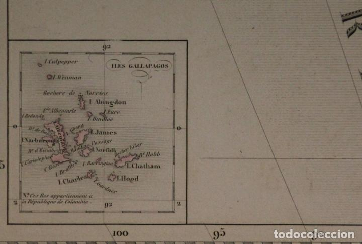 Arte: Gran mapa de América del Sur, 1840. Dufour/Andriveau-Goujon - Foto 12 - 85407772
