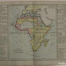 Arte: MAPA DE ÁFRICA, 1786. BRION DE LA TOUR/DESNOS. Lote 85513320