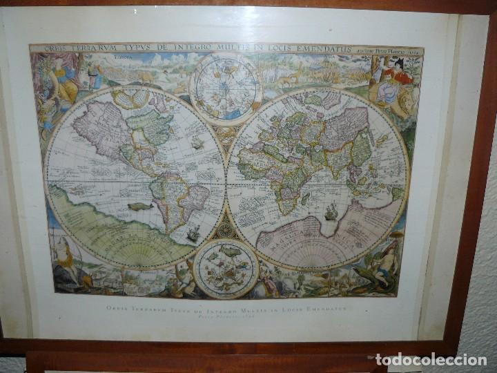 1594 orbis terrarum por petrus plancius gran  Comprar