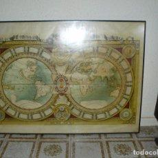 Arte: DESCRIPCIÓN: MAPAMUNDI DE LUIS X DE FRANCIA. (POSTEL/JAUGEON). 1688. . Lote 90247842