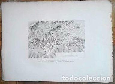 Arte: Plano antiguo Burgos año 1808 con certificado autenticidad. Mapas antiguos Burgos Castilla - Foto 3 - 86097960