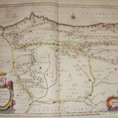 Arte - Mapa Grabado de Asturias y Leon. Legionis Regnum et Asturiarum Principatus. 1650. - 86953796