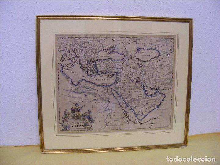 GRABADO IMPERIO TURCO (Arte - Cartografía Antigua (hasta S. XIX))