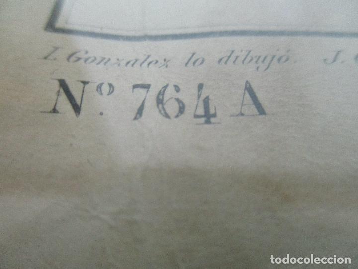 Arte: Antigua Carta Náutica - Plano del Puerto de Cabrera -Islas Baleares y Mallorca -Año 1893 -con Anexo - Foto 5 - 87787760