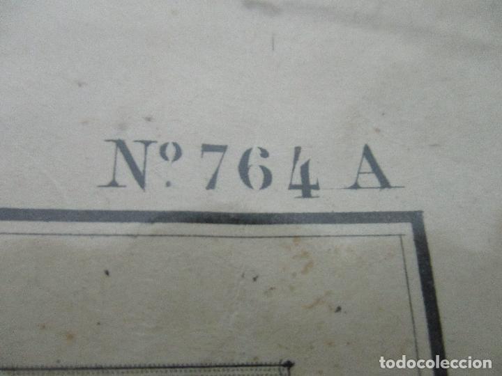 Arte: Antigua Carta Náutica - Plano del Puerto de Cabrera -Islas Baleares y Mallorca -Año 1893 -con Anexo - Foto 9 - 87787760