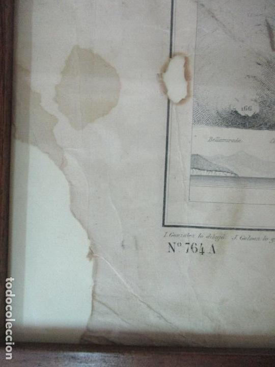 Arte: Antigua Carta Náutica - Plano del Puerto de Cabrera -Islas Baleares y Mallorca -Año 1893 -con Anexo - Foto 10 - 87787760