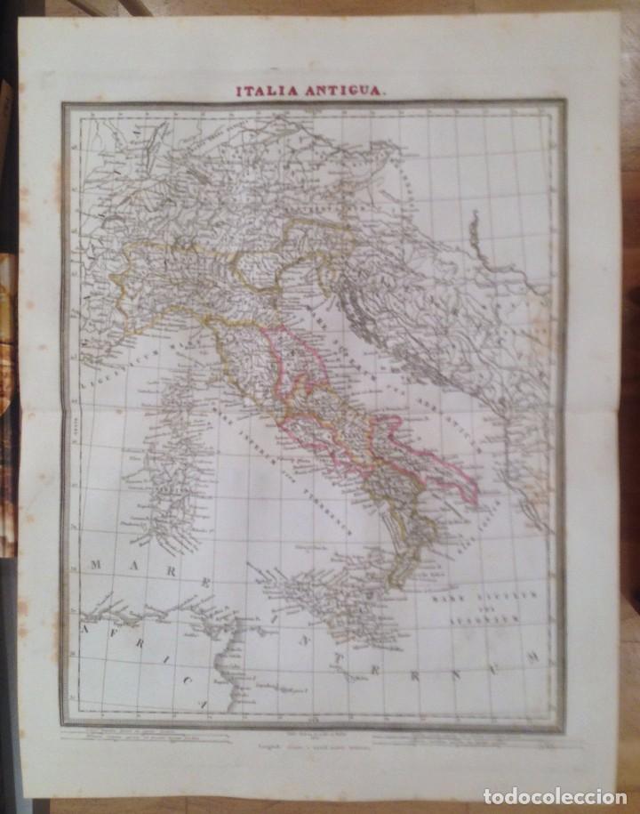 MAPA ITALIA ANTIGUA. TARDIEU. (Arte - Cartografía Antigua (hasta S. XIX))