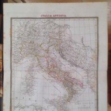 Arte: MAPA ITALIA ANTIGUA. TARDIEU.. Lote 90957095