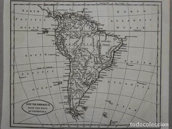 mapa de américa del sur, circa 1820. - Comprar Cartografía Antigua ...