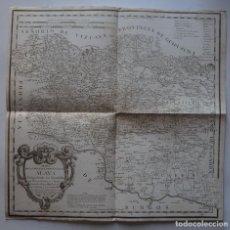 Arte: MAPA DE LA PROVINCIA DE ÁLAVA (ESPAÑA), 1770. TOMÁS LÓPEZ. Lote 95157579