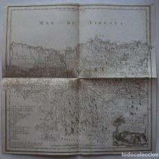 Arte: MAPA DE VIZCAYA (ESPAÑA), 1769. TOMÁS LÓPEZ. Lote 95157823