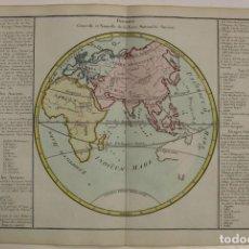 Arte: MAPA DEL MUNDO ANTIGUO, 1786. BUY DE MORNAS/ DESNOS. Lote 95236191
