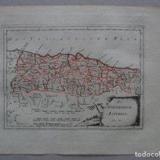 Arte: MAPA DE ASTURIAS ( NORTE DE ESPAÑA), 1795. REILLY. Lote 96406563