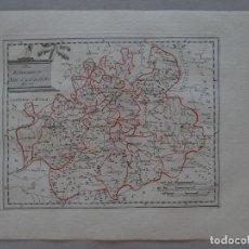 Arte: MAPA DE LA ANTIGUA PROVINCIA DE CASTILLA LA NUEVA (ESPAÑA), 1806. REILLY. Lote 96409839