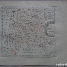 Arte: MAPA DE LA PROVINCIA DE SALAMANCA,(ESPAÑA), 1795. REILLY. Lote 96409927