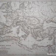 Arte: MAPA DEL GRAN IMPERIO ROMANO, 1851. R. SCHMIDT. Lote 96765711