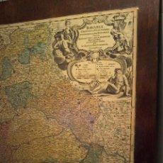 Arte: BAVARIA CIRCULUS ET ELECTORAT IN SUAS QUASQUE DITIONES... - BAPTISTAM HOMANNUM - 1728 CA. Lote 96857163