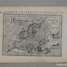 Arte: ANTIGUO MAPA DE EUROPA Y PORTADA DEL ATLAS, 1616. BERTIUS/ HONDIUS. Lote 97500755