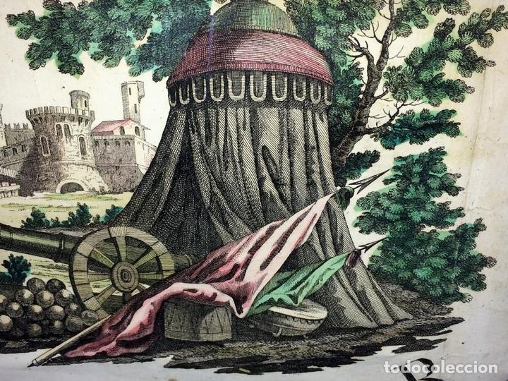 Arte: TEATRO DELLA GUERRA PRESENTE TRA LA RUSSIA E LA PORTA OTTOMANA. ZATTA. VENECIA.1788 - Foto 13 - 98437351