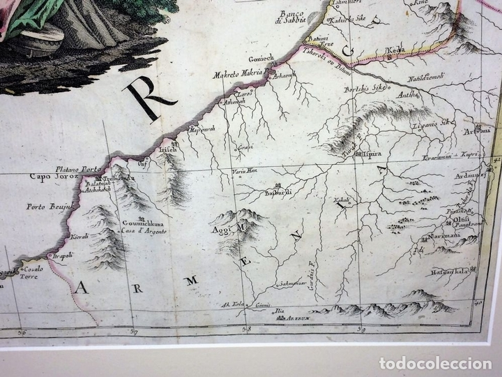 Arte: TEATRO DELLA GUERRA PRESENTE TRA LA RUSSIA E LA PORTA OTTOMANA. ZATTA. VENECIA.1788 - Foto 15 - 98437351