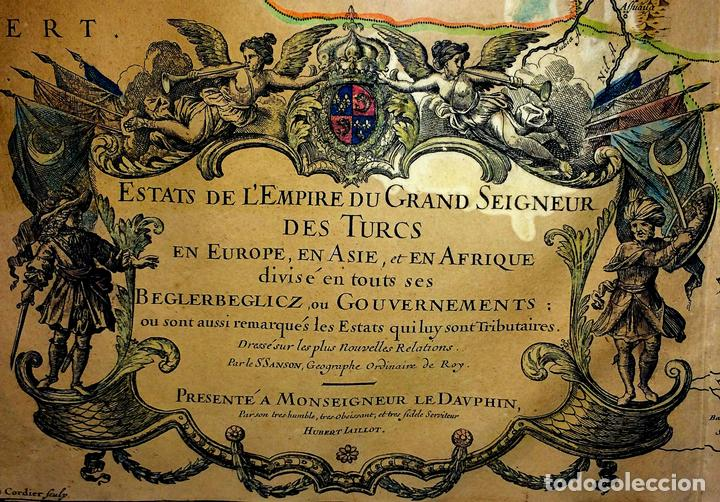 LES ESTATS DE L'EMPIRE DU GRAND SEIGNEUR DES TURCS EN ASIE (...). JAILLOT. PARIS 1689 (Arte - Cartografía Antigua (hasta S. XIX))
